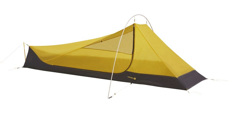 lofoten 1 ulw inner cabin 107159 nordisk extreme lightweight one man stand alone inner tent mustard yellow 2
