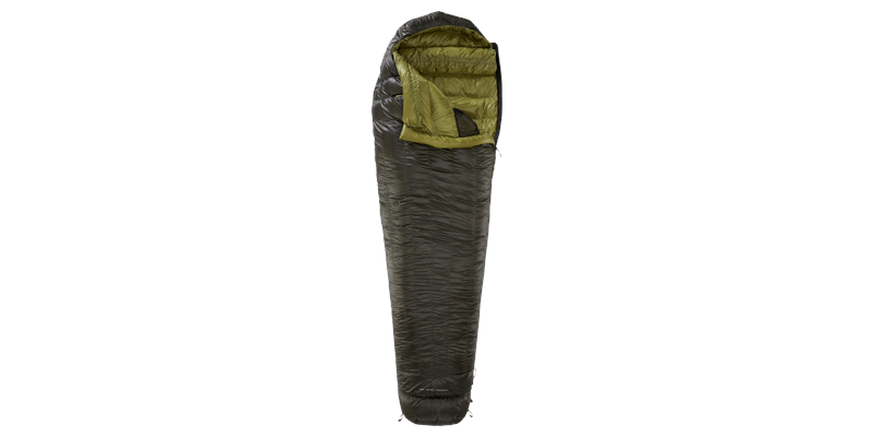 balance 400 yeti down sleeping bag 02 vertical open