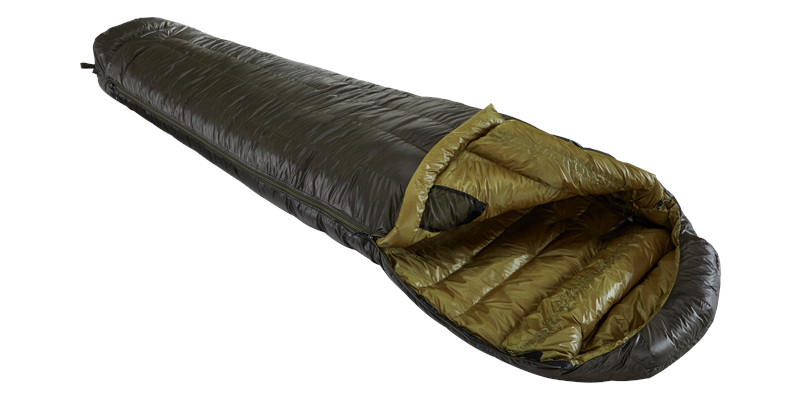 balance 400 yeti down sleeping bag 04 horizontal open