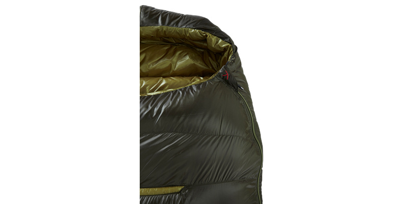 balance 400 yeti down sleeping bag 05 detail