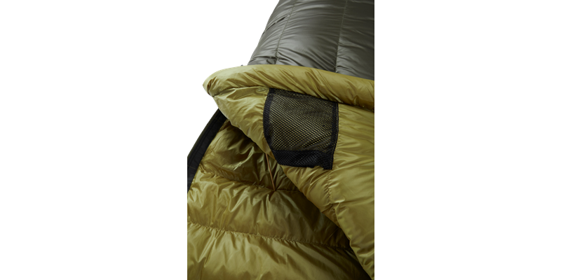 balance 400 yeti down sleeping bag 11 detail