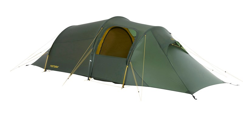 oppland 2 lw 151022 nordisk ultimate lightweight three man tent forest green 02