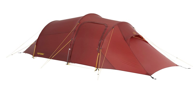 oppland 2 lw 151023 nordisk ultimate lightweight three man tent burnt red 02