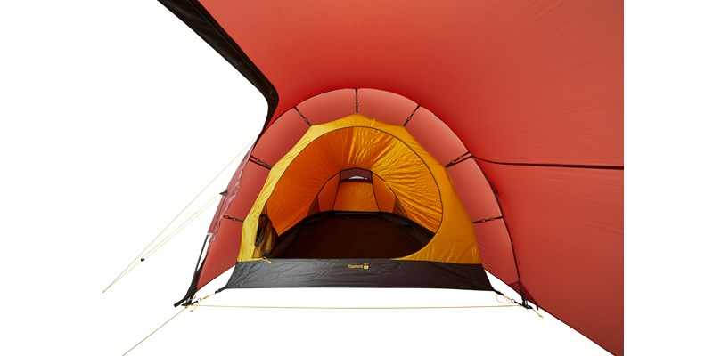oppland 2 lw 151023 nordisk ultimate lightweight three man tent burnt red 12