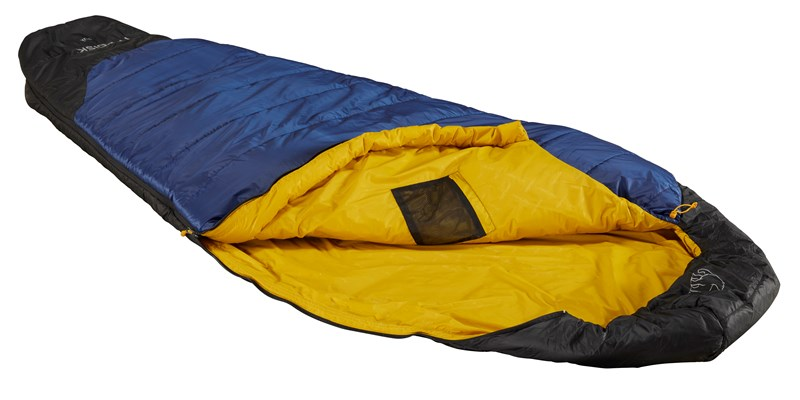 puk plus 4 110320_110321 nordisk egg shape sleeping bag truenavy 5