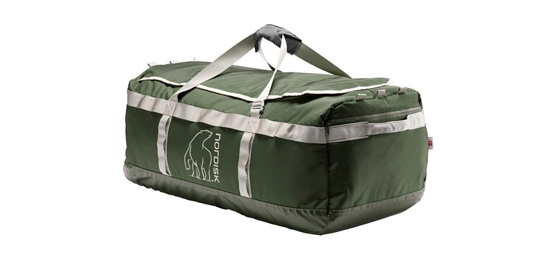 skara size l 133088 nordisk gear bag 100 litres forest green 08