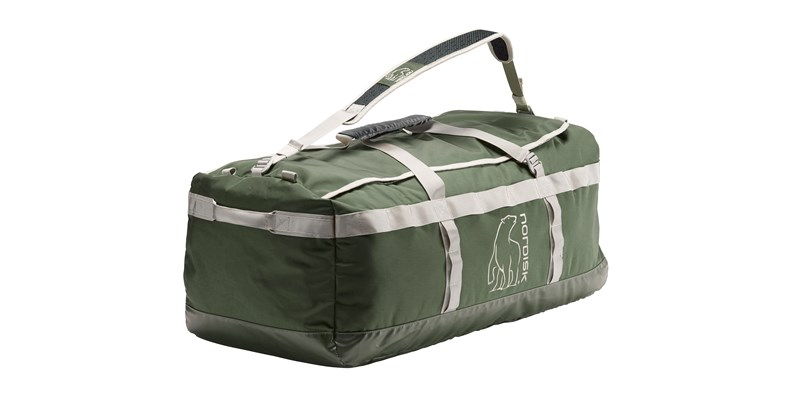 skara size l 133088 nordisk gear bag 100 litres forest green 12