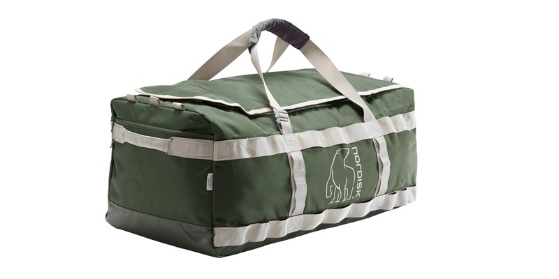 skara size m 133086 nordisk gear bag 70 litres forest green 01