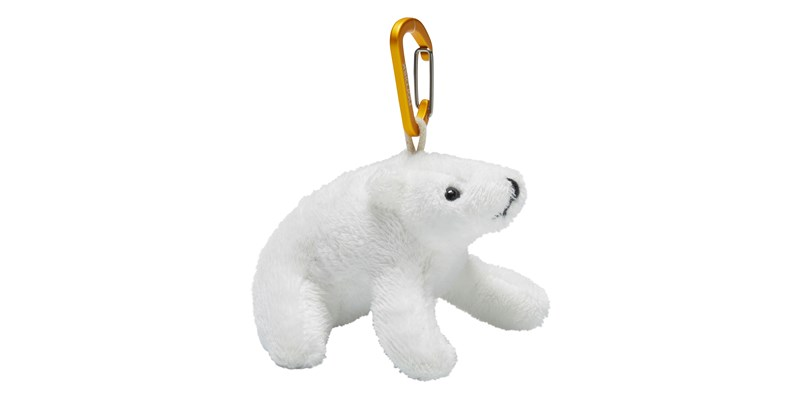 polar bear key hanger 148101 nordisk white mustard yellow 01