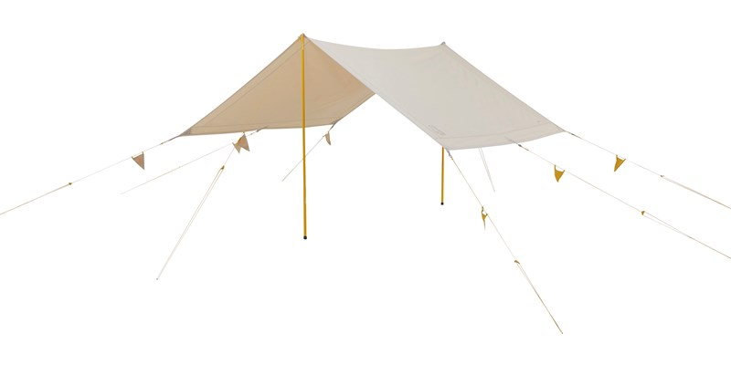 kari tech mini 148062 with 148059 nordisk cma tarp with colour pack sand mustard yellow 02