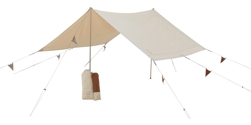 kari tech mini 148062 with 148061 nordisk cma tarp with colour pack sand chocolate brown 012
