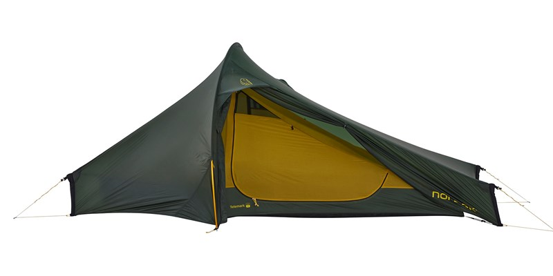 telemark 22 lw 151024 nordisk extremely light tent forest green 02