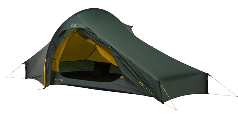 telemark 22 lw 151024 nordisk extremely light tent forest green 03