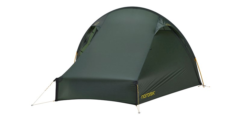 telemark 22 lw 151024 nordisk extremely light tent forest green 04