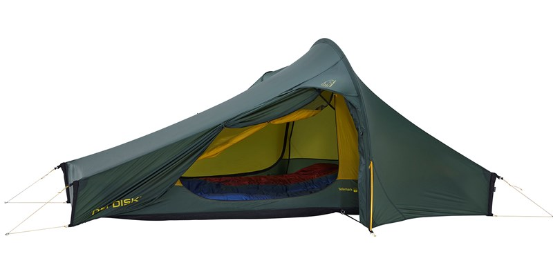 telemark 22 lw 151024 nordisk extremely light tent forest green 06