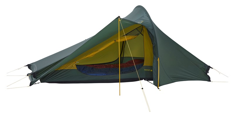 telemark 22 lw 151024 nordisk extremely light tent forest green 07