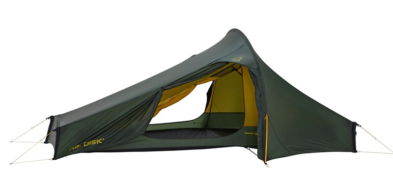 telemark 22 lw 151024 nordisk extremely light tent forest green 08