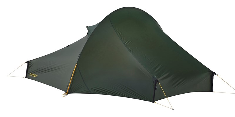 telemark 22 lw 151024 nordisk extremely light tent forest green 09