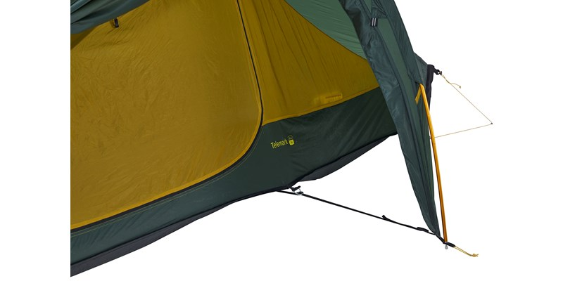telemark 22 lw 151024 nordisk extremely light tent forest green 10