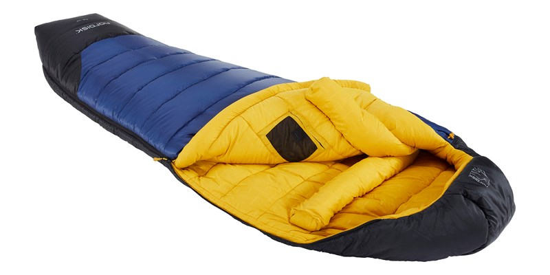 puk minus 10 mummy 110328 29 30 nordisk sleeping bag true navy mustard yellow black 03