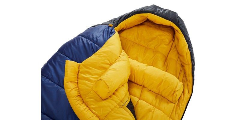 puk minus 10 mummy 110328 29 30 nordisk sleeping bag true navy mustard yellow black 04