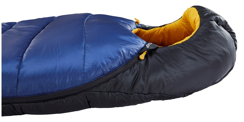 puk minus 10 mummy 110328 29 30 nordisk sleeping bag true navy mustard yellow black 06