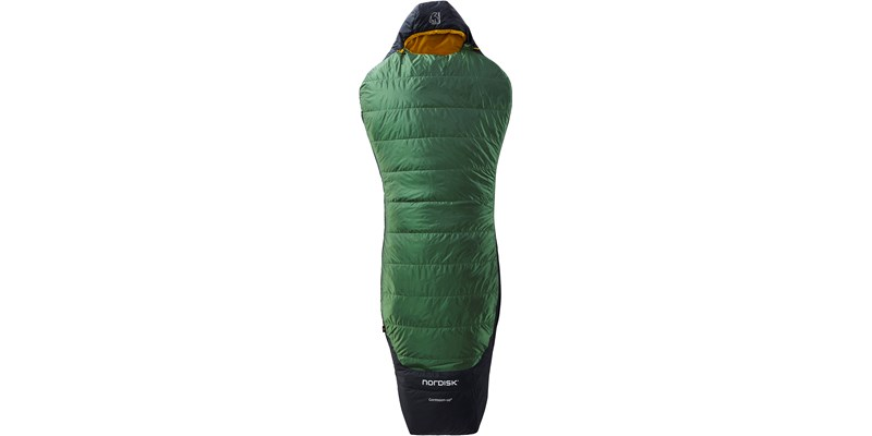 gormsson plus 10 curve 110461 62 63 nordisk summer sleeping bag artichoke green 01