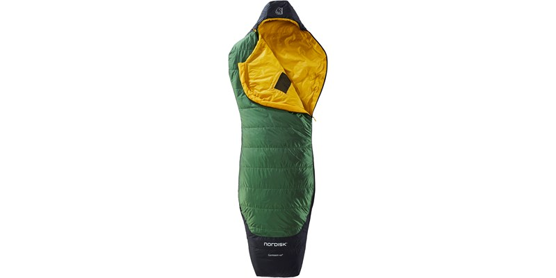 gormsson plus 10 curve 110461 62 63 nordisk summer sleeping bag artichoke green 02