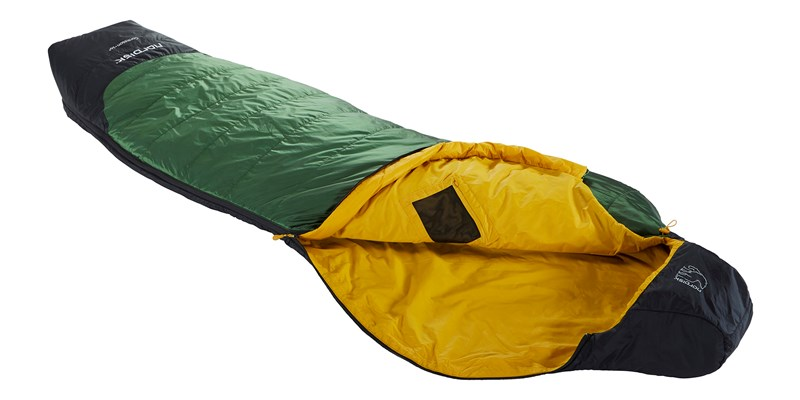 gormsson plus 10 curve 110461 62 63 nordisk summer sleeping bag artichoke green 03