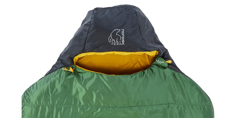 gormsson plus 10 curve 110461 62 63 nordisk summer sleeping bag artichoke green 04