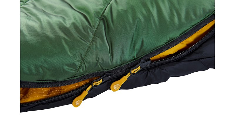 gormsson plus 10 curve 110461 62 63 nordisk summer sleeping bag artichoke green 07