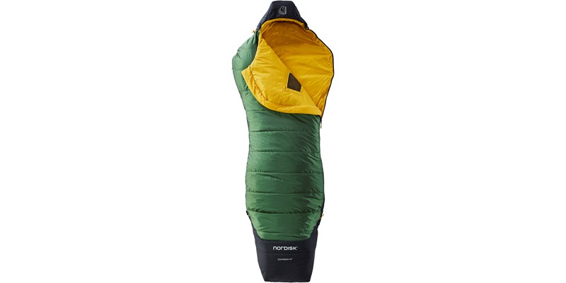 gormsson plus 4 curve 110464 65 66 nordisk summer sleeping bag artichoke green 02