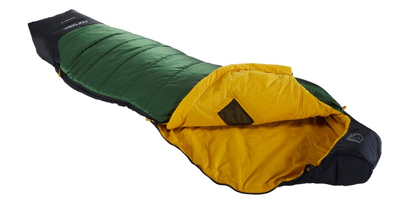 gormsson plus 4 curve 110464 65 66 nordisk summer sleeping bag artichoke green 03