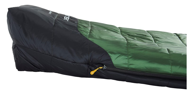 gormsson plus 4 curve 110464 65 66 nordisk summer sleeping bag artichoke green 09
