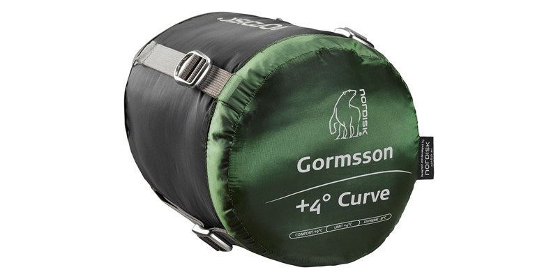 gormsson plus 4 curve 110464 65 66 nordisk summer sleeping bag artichoke green 11