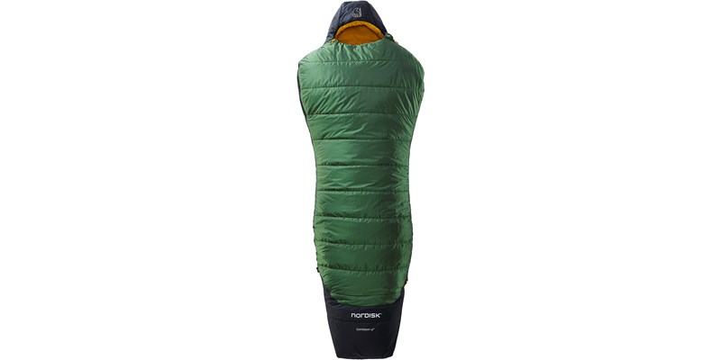 gormsson minus 2 curve 110467 68 69 nordisk 3 season sleeping bag artichoke green 01