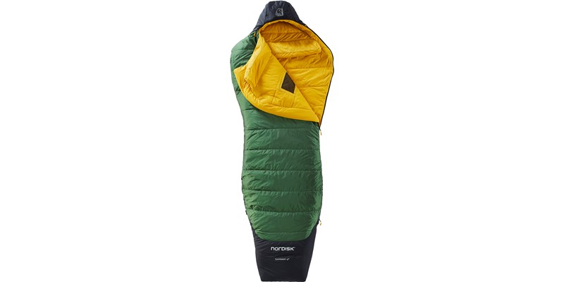 gormsson minus 2 curve 110467 68 69 nordisk 3 season sleeping bag artichoke green 02