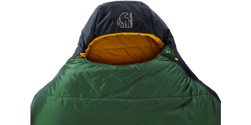 gormsson minus 2 mummy 110470 71 72 nordisk 3 season sleeping bag artichoke green 05