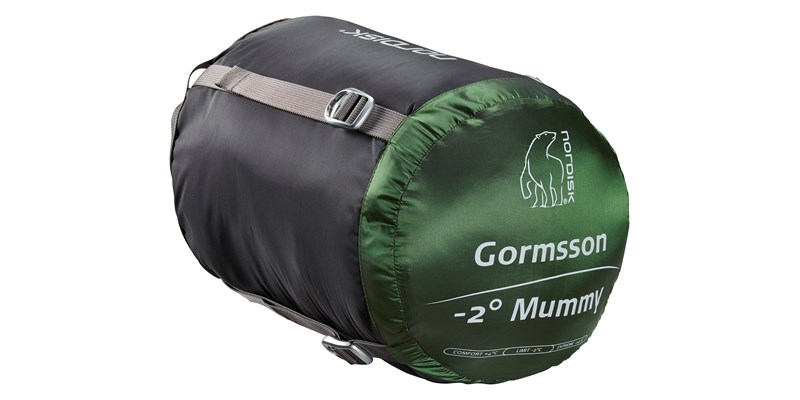 gormsson minus 2 mummy 110470 71 72 nordisk 3 season sleeping bag artichoke green 14