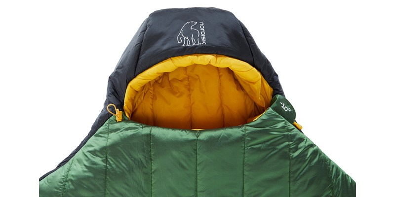 gormsson minus 10 mummy 110460 44 45 nordisk winter sleeping bag artichoke green 05