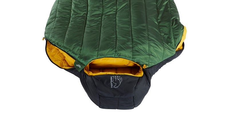 gormsson minus 10 mummy 110460 44 45 nordisk winter sleeping bag artichoke green 11