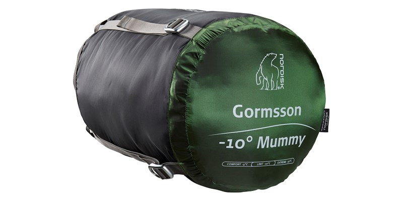 gormsson minus 10 mummy 110460 44 45 nordisk winter sleeping bag artichoke green 16
