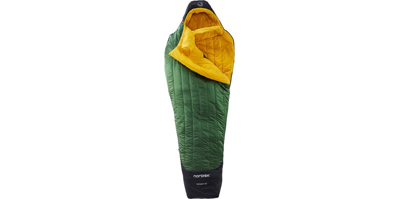 gormsson minus 20 mummy 110459 46 47 nordisk winter sleeping bag artichoke green 02