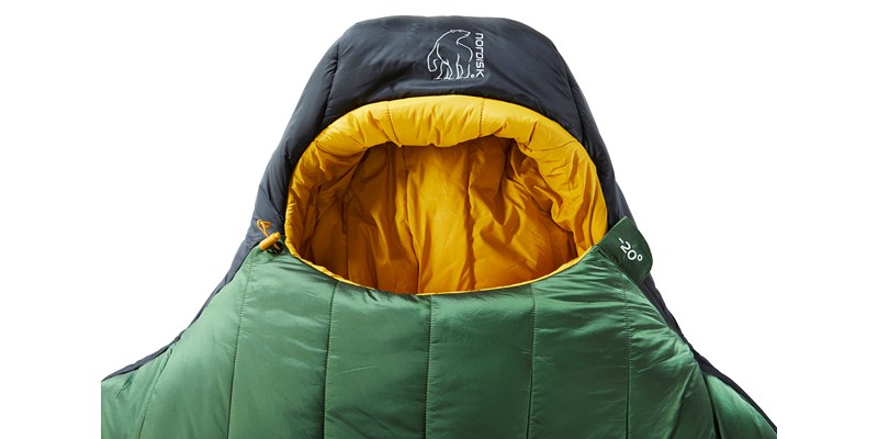 gormsson minus 20 mummy 110459 46 47 nordisk winter sleeping bag artichoke green 05