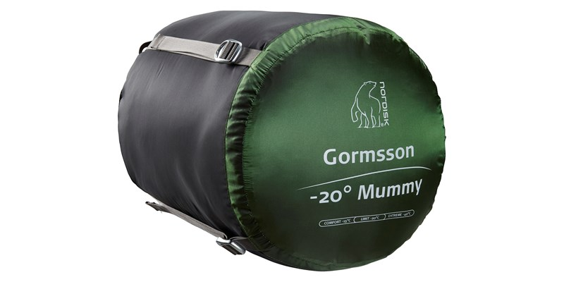 gormsson minus 20 mummy 110459 46 47 nordisk winter sleeping bag artichoke green 16