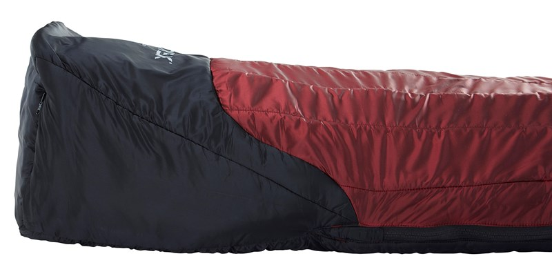 oscar minus 10 mummy 110453 54 55 nordisk winter sleeping bag rio red 10