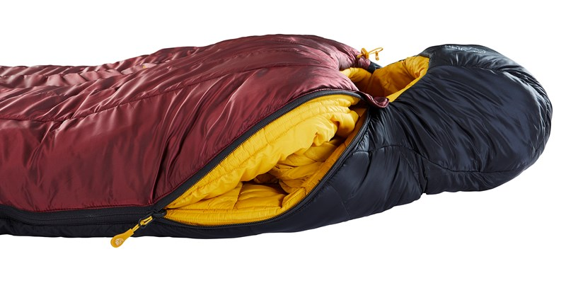 oscar minus 10 mummy 110453 54 55 nordisk winter sleeping bag rio red 12