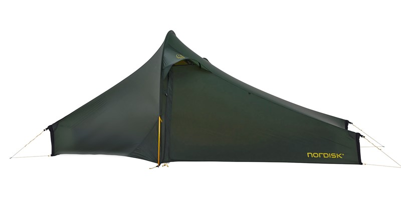 telemark 22 lw 151024 nordisk extremely light tent forest green 01