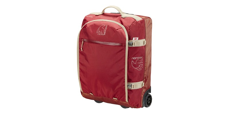 verran 45 133102 nordisk cabin sized wheeled duffel burnt red 01