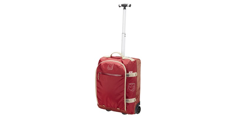 verran 45 133102 nordisk cabin sized wheeled duffel burnt red 02